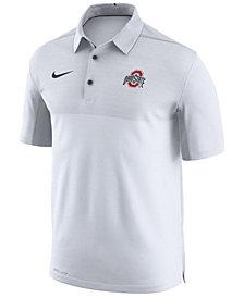 Nike Men's Ohio State Buckeyes Elite Coaches Polo