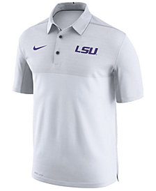 Nike Men's LSU Tigers Elite Coaches Polo