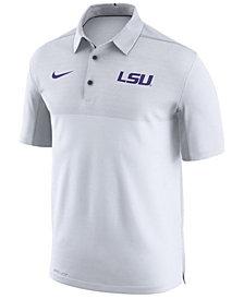 Nike Men's LSU Tigers Elite Coaches Polo