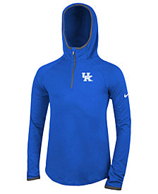 Nike Kentucky Wildcats Element Logo Zip Hoodie,  Big Girls