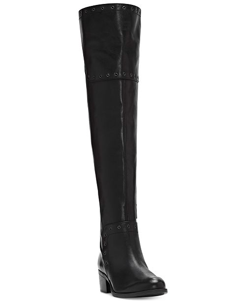 5d3c52cdabf2 Vince Camuto Bestan Grommet Over-The-Knee Boots   Reviews ...