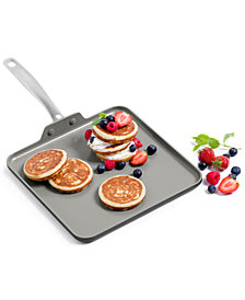 "GreenPan Chatham 11"" Ceramic Non-Stick Square Griddle"