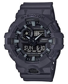 G-Shock Men's Analog-Digital Dark Grey Resin Strap Watch 53mm