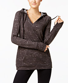 Ideology V-Neck Hoodie, Created for Macy's
