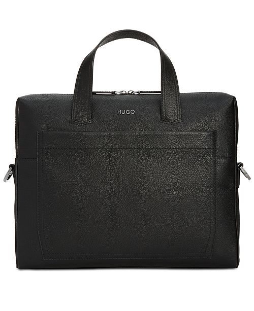Hugo Boss Men S Leather Doent Case Be The First To Write A Review Main Image