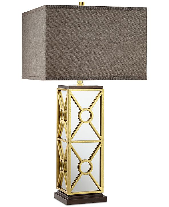 Kathy Ireland CLOSEOUT! Pacific Coast Romana Mirrored Table Lamp