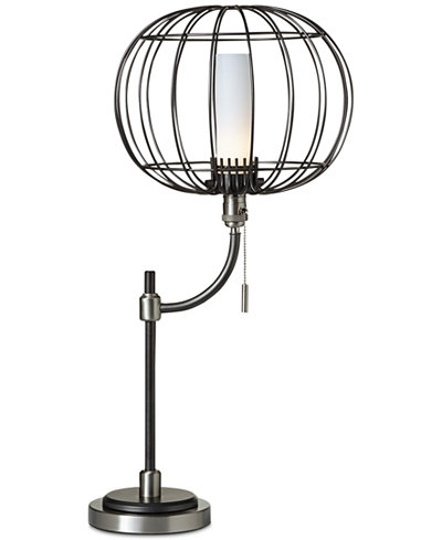 CLOSEOUT! Pacific Coast Aviary Wire Cage Table Lamp