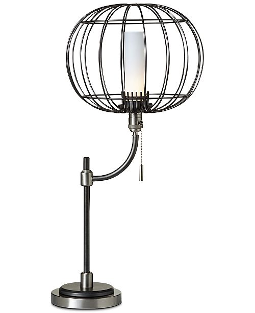 Pacific coast closeout aviary wire cage table lamp lighting product details take flight the aviary wire cage table lamp greentooth Choice Image