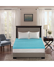 "Flexapedic by Sleep Philosophy 3"" Gel-Infused Memory Foam Full Mattress Topper"