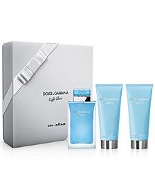 DOLCE&GABBANA 3-Pc. Light Blue Eau Intense Gift Set