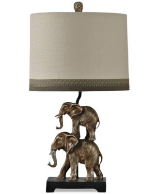 StyleCraft Braden Elephant Table Lamp - Lighting & Lamps - For The ...