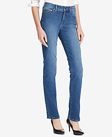 Lauren Ralph Lauren Ultimate Slimming Premier Straight Jeans