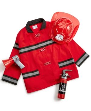 Fao Schwarz Childrens Firefighter Costume