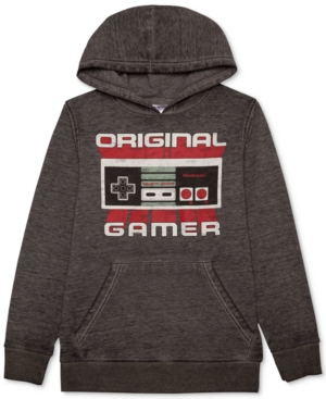 Nintendo Original Gamer GraphicPrint Hoodie Big Boys (820)