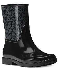 gumijasti škornji za dež