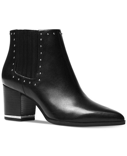 ff2ae7ddbdc8 Michael Kors Gemma Mid Booties   Reviews - Boots - Shoes - Macy s