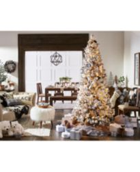 Holiday Lane Winter White Décor, Created for Macy's
