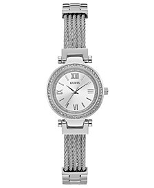 GUESS Women's Stainless Steel Bracelet Watch 27mm