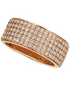 Le Vian® Strawberry & Nude™ Diamond Band (1-7/8 ct. t.w.) in 14k Gold or Rose Gold