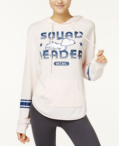 Peanuts X Love Tribe Juniors' Squad Leader Hoodie