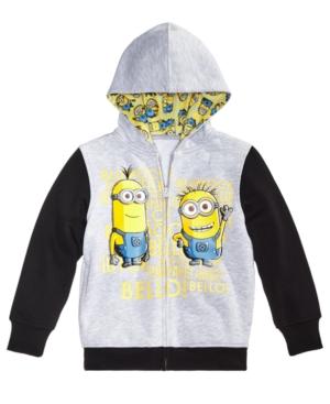 Universal Studios Minions FrontZip Hoodie Toddler Boys (2T5T)