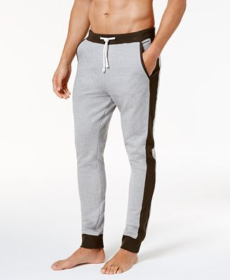 Bar III Men's Cotton Paneled Jogger Pajama Pants, Created for ...