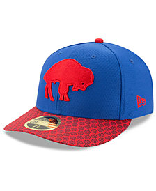 New Era Buffalo Bills Sideline Low Profile 59FIFTY Fitted Cap