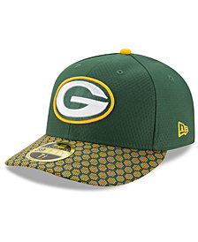 New Era Green Bay Packers Sideline Low Profile 59FIFTY Fitted Cap