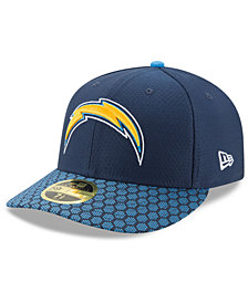 New Era Los Angeles Chargers Sideline Low Profile 59FIFTY Fitted Cap