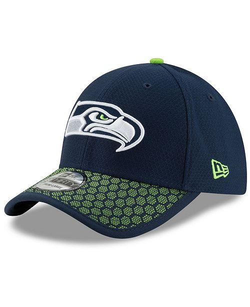 a85e8db308bc3 New Era Seattle Seahawks Sideline 39THIRTY Cap - Sports Fan Shop By ...
