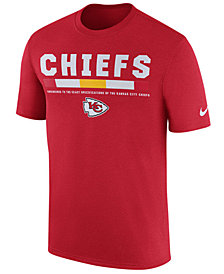 Nike Men's Kansas City Chiefs Legend Staff T-Shirt