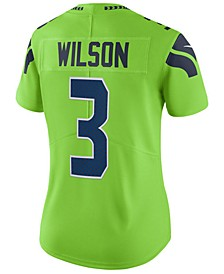 Women's Russell Wilson Seattle Seahawks Color Rush Limited Jersey
