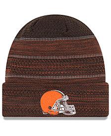 New Era Cleveland Browns Touchdown Cuff Knit Hat