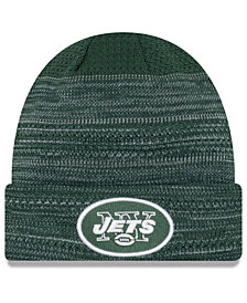 New Era New York Jets Touchdown Cuff Knit Hat