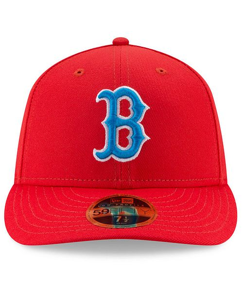 ... New Era Boston Red Sox Little League Classic Low Profile 59FIFTY Fitted  Cap ... 077f256aa48