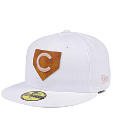 New Era Chicago Cubs The Logo of Leather 59FIFTY Cap