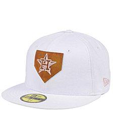 New Era Houston Astros The Logo of Leather 59FIFTY Cap