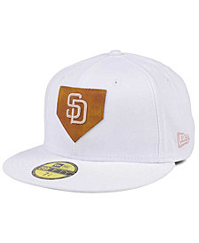 New Era San Diego Padres The Logo of Leather 59FIFTY Cap