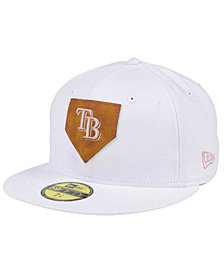 New Era Tampa Bay Rays The Logo of Leather 59FIFTY Cap