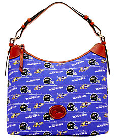 Dooney & Bourke Baltimore Ravens Nylon Hobo
