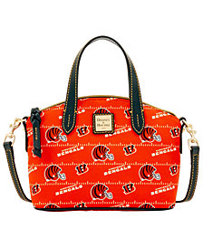 Dooney & Bourke Cincinnati Bengals Nylon Mini Crossbody Satchel