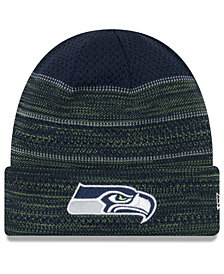 New Era Seattle Seahawks Touchdown Cuff Knit Hat