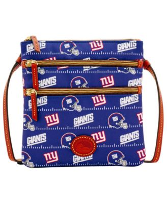 New York Giants Nylon Triple Zip Crossbody
