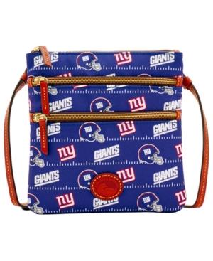 New York Giants Nylon Triple Zip Crossbody