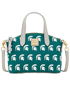 Dooney & Bourke Michigan State Spartans Ruby Mini Satchel Crossbody