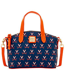 Dooney & Bourke Virginia Cavaliers Ruby Mini Satchel Crossbody