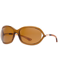 Tom Ford JENNIFER Polarized Sunglasses, FT0008