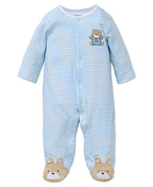 Little Me Baby Boys Cotton Coverall