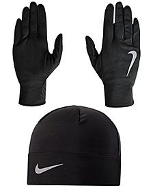 Nike Men's Running Beanie & Glove Set