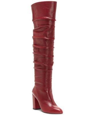 INC International Concepts Anna Sui Loves I.N.C. Tabithaa Over-The-Knee Boots, Created for Macy's